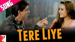 Tere Liye - Song - Veer-Zaara - Shahrukh Khan | Preity Zinta