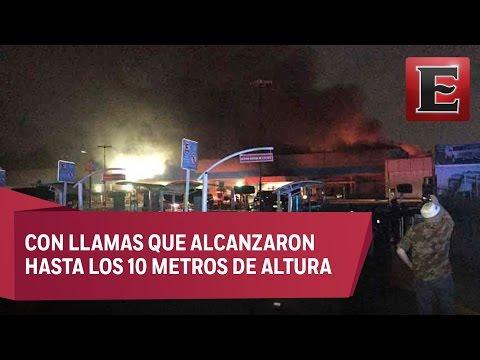 Incendio en Walmart de Miguel Ángel de Quevedo