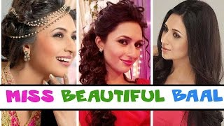 Divyanka Tripathi's different hairstyles Video