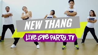 New Thang | Zumba Fitness | Live Love Party, new thang,redfoo