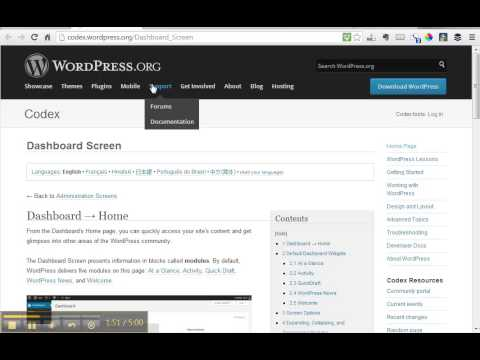 3 1 The WordPress Codex and Support | 21 Days to WordPress Proficiency | Finch Pro Services