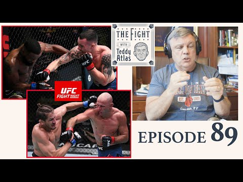 Teddy Atlas breaks down Covington vs Woodley, Cerrone vs Price, Chimaev Meerschaert + Latest Boxing