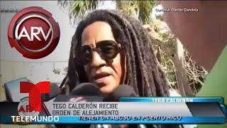 Tego Calderón recibe orden de alejamiento de su ex | Al Rojo Vivo