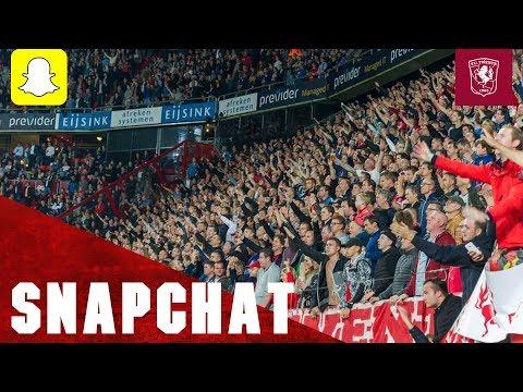 FC Twente vs. Roda JC - Snapchat Story