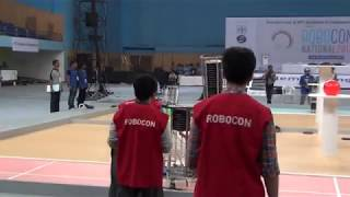 MIT vs Marwadi Education Foundation Super League match 2 National Robocon 2017
