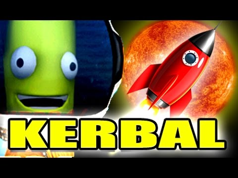 TRAVELING TO THE SUN! - Kerbal Space Program Gameplay 2