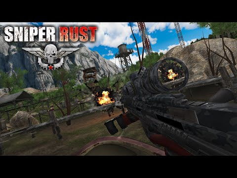 Sniper Rust VR game for Oculus and Steam