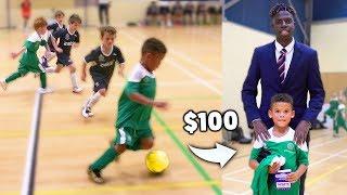 Video I Donated a Kid $100 Football Boots If His Team Wins a Soccer Match MP3, 3GP, MP4, WEBM, AVI, FLV Agustus 2019