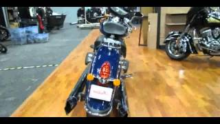 5. 2014 Indian Chief Classic Springfield Blue Walkaround
