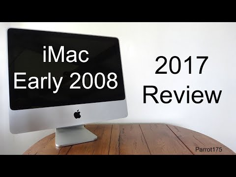 Apple iMac Early 2008 Intel Core 2 Duo (2017 Review)