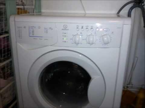 How to repair Indesit washing machine that is Flashing