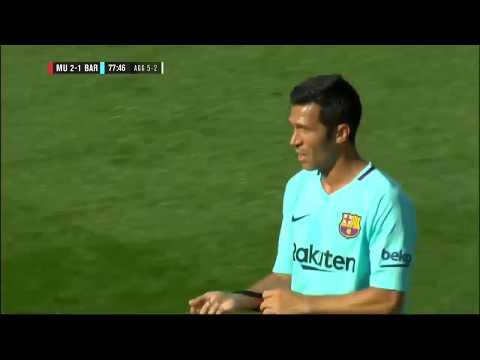 Luis Garcia – FCBarcelona – Manchester United Legends