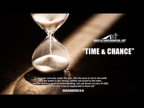 """Time and Chance"" - Bishop Aloys Rutivi"