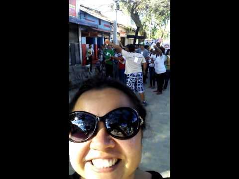 Encontrando irmãos evangelizando em Paquetá!