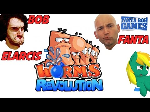 Fanta - Petits affrontement entre potes sur Worms Revolution. Coups vicieux garantis ! ^^ Episode avec Elarcis https://www.youtube.com/user/Elarcis