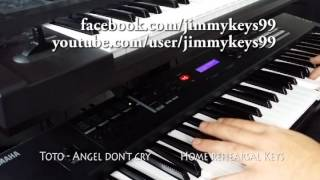 Toto - Angel don't cry (by Jimmy Keys) Video