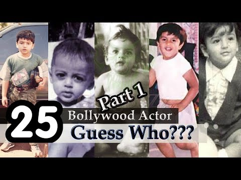 Bollywood Actor - Guess The Bollywood Actor | Guess Bollywood Actors From Their Childhood Pictures