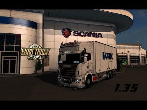 Tandem addon for RJL Scania rs&r4 by Kast v2.0