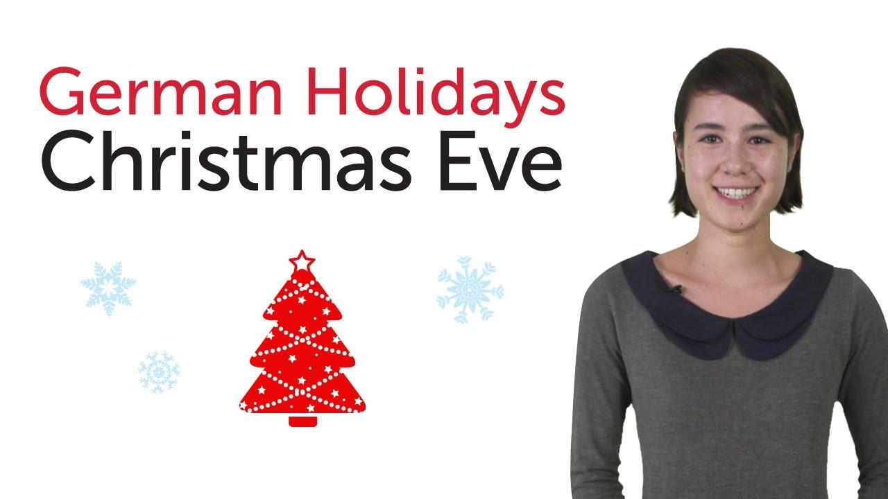 Learn German Holidays – Christmas Eve