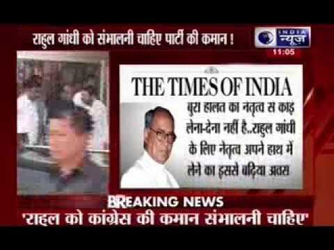 Rahul should take charge of Congress from Sonia Gandhi: Digvijaya Singh 01 November 2014 12 PM