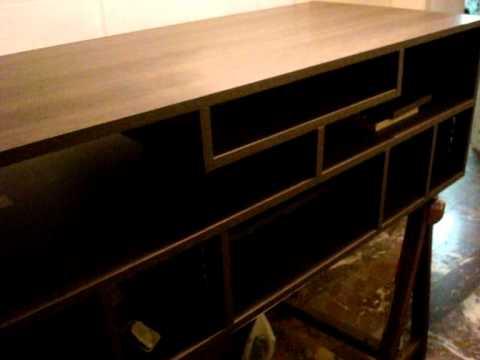 Comment construire meuble tv la r ponse est sur - Francois desile lit escamotable ...