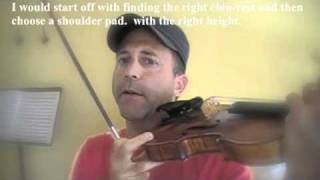 Holding the violin.m4v