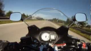 7. Top Speed Suzuki GSX650F 230 km/h