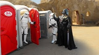 Video Toilet 2016 STAR WARS PRANK !!  Stormtroopers attack ! MP3, 3GP, MP4, WEBM, AVI, FLV Juli 2018