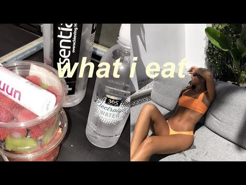 WHAT I EAT IN A DAY // Healthy & EASY For High School