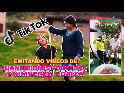 MARIA Y ASHUKITO emitando TIK TOK de JD PANTOJA Y kimverly Loiza