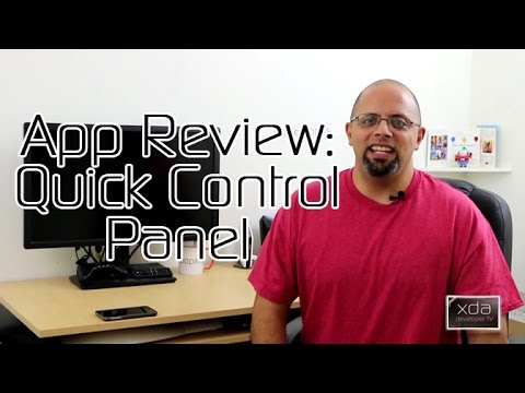 Control Your Phone with Quick Control Panel – Android App Review