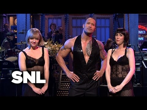 Dwayne Johnson Monologue - SNL