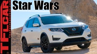 2017 Nissan Rogue One: Nissan Drives to the Dark Side by The Fast Lane Car