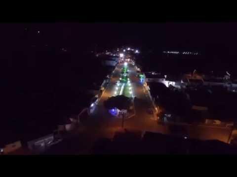 Vista aérea da cidade de Jardim de Angicos RN
