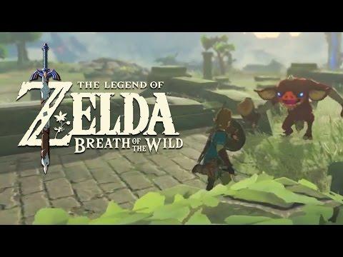 The Legend Of Zelda : Breath of the Wild - système de combat