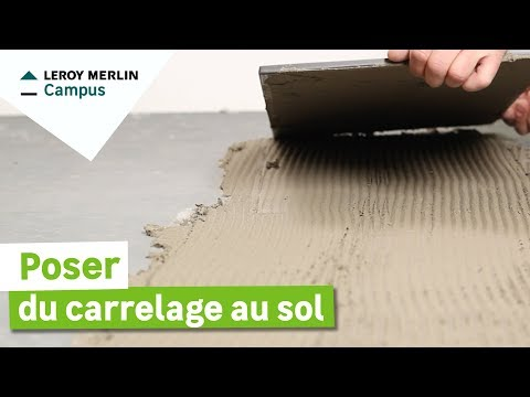 comment poser carrelage 30 x 60
