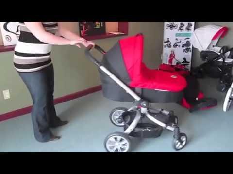 детская универсальная коляска Coletto Marco Polo 3 в 1 и 2 в 1 видео обзор на vasilechek.ru колетто