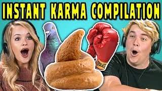 Video ADULTS REACT TO INSTANT KARMA COMPILATION #2 MP3, 3GP, MP4, WEBM, AVI, FLV Juli 2018