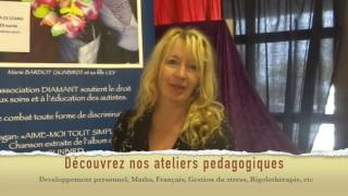 Autisme : les soins de Marie Bardot et les ateliers pédagogiques en soutien aux autistes