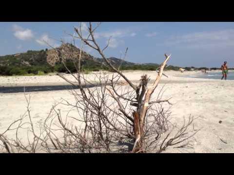 La spiaggia di Berchida a Siniscola