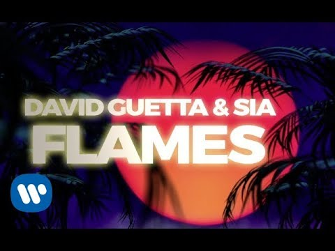 David Guetta & Sia - Flames (Lyric Video)