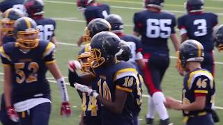 Warriors vs Giants (Week 2 Bantam)