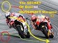 MotoGP Austria Race 2017 - The secret of Dovi overcome the very dangerous action of Marquez