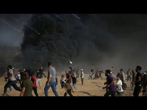 Οργή Παλαιστινίων στην κηδεία 15χρονου