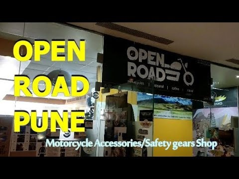 Open Road Pune | Awesome Collection of Motorcycle accessories and safety gears