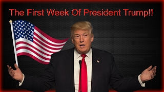 Like And Subscribe! ImJustJoshinYa! Tune in Next Time! We are officially done our first week in regards to President Trump! There was alot of things that happened over the weekend, and if this is any indication of how things will be for the next 4 years... Get Your Popcorn Ready!!!