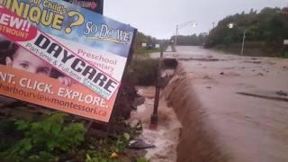 Sydney (NS) Canada  City pictures : Major flooding in Sydney Nova Scotia.