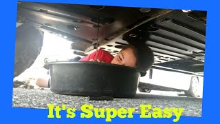 5. How to  Change oil on a Polaris Ranger 570 in 8 mins with an 8 year old.