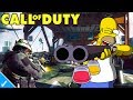 HOMER SIMPSON PLAYS BLACK OPS