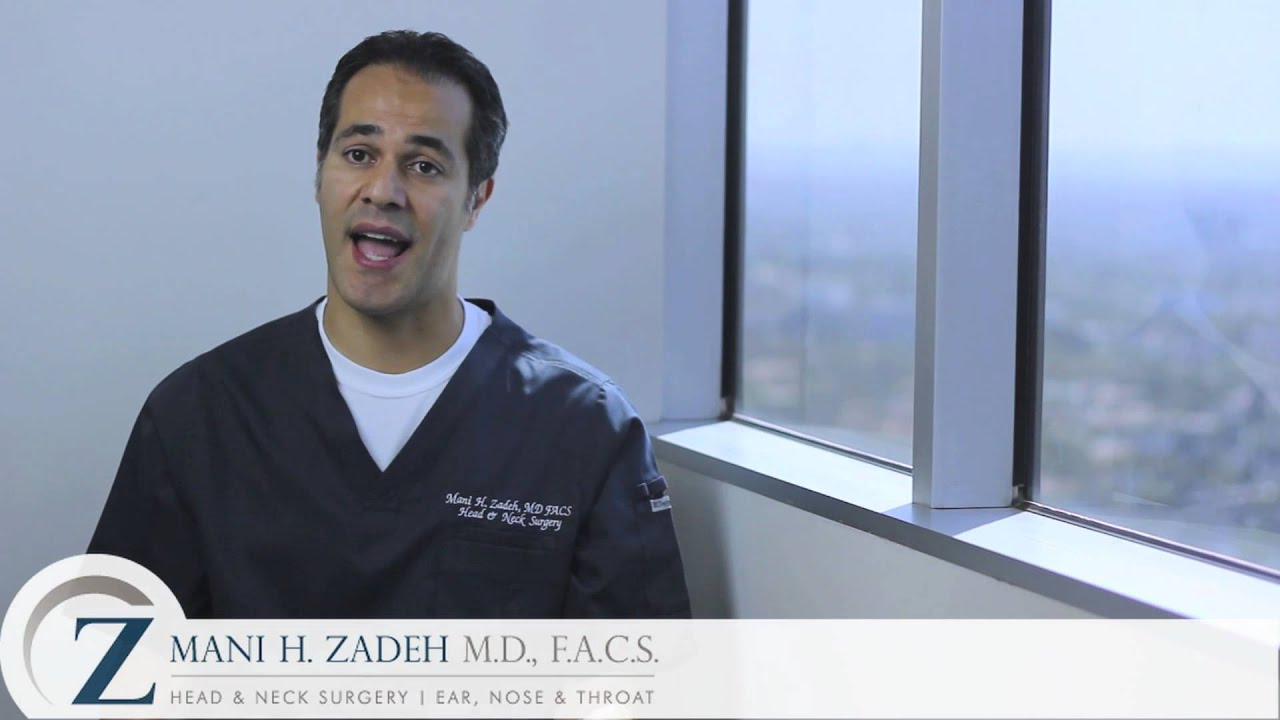 Mani H. Zadeh M.D., F.A.C.S - Nasal Specialist